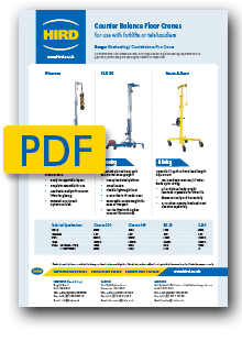 Lodestar Electric Chain Hoist -  product specification