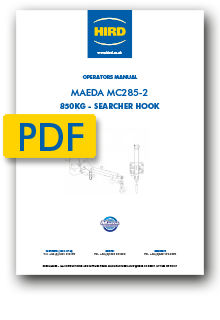 Maeda MC285 Searcher Hook Manual