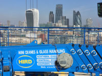 UNIC URW295-spider-mini-crane-view-over-london-hird