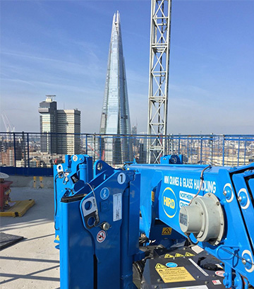the-shard-mini-crane-hire-from-hird