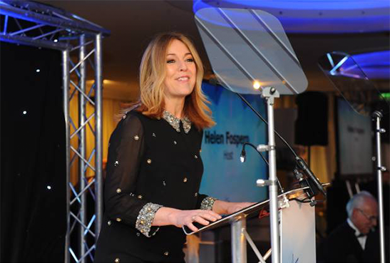Hull Daily Mai Business Awards Host - Helen Fospero