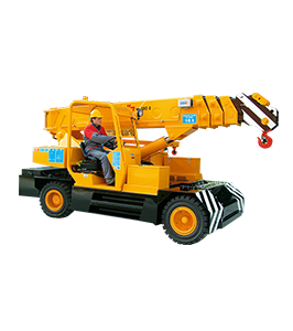 Valla 180E - Pick and carry crane