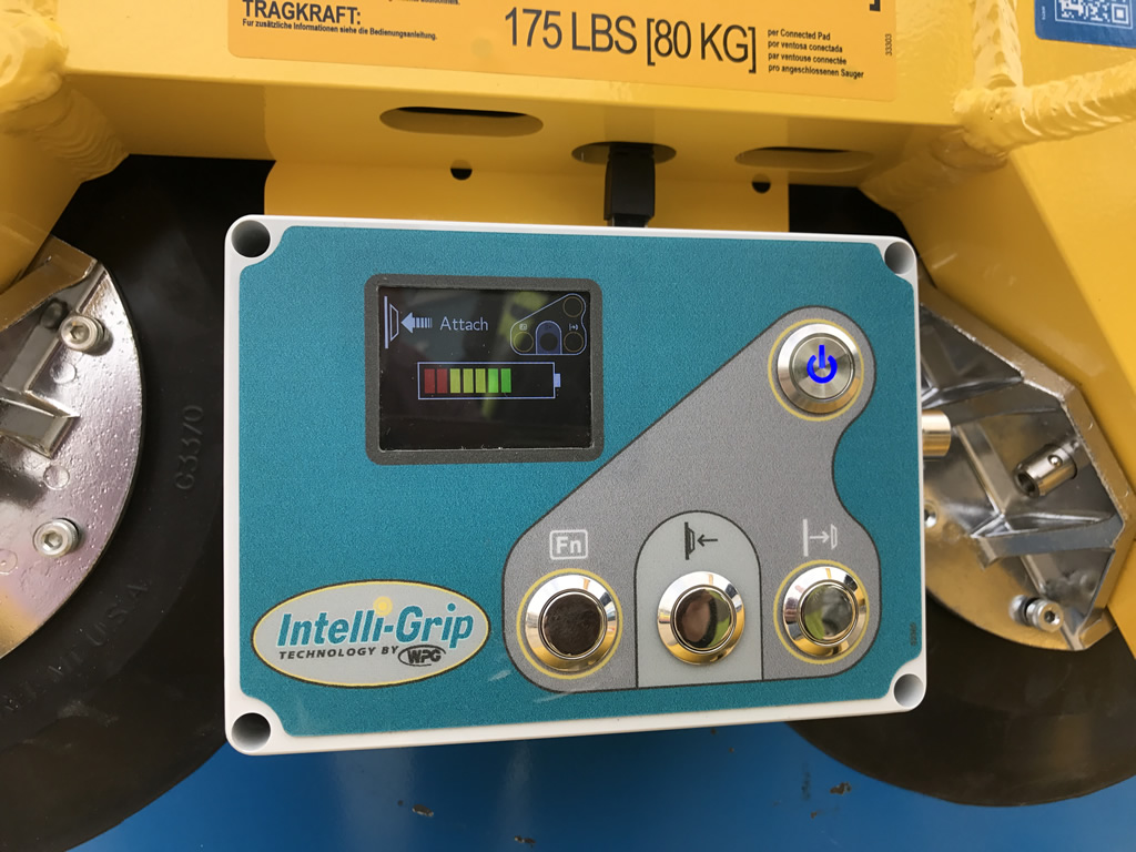 Hird lifts glass handling to new level with Intelli-Grip | Hird