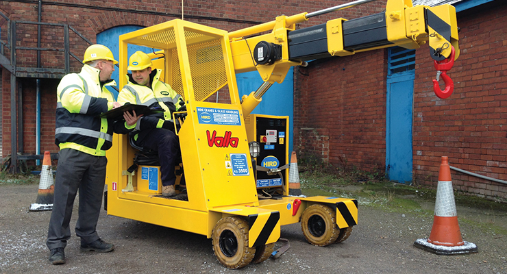 Valla pick and carry crane_hird_training