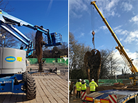 Knife Angel and Hird GMK 3050 mobile crane-2