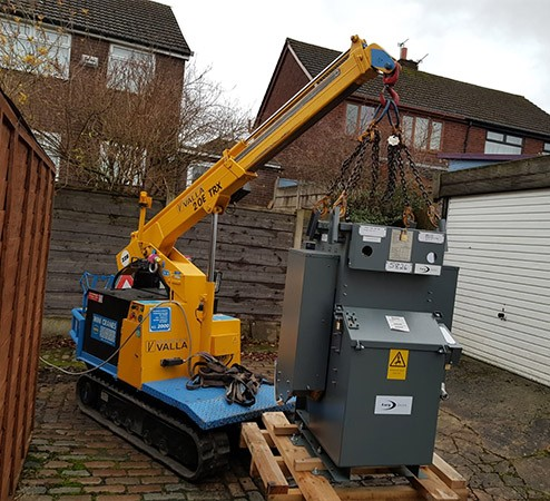 Valla 20E TRX Picka and Carry Crane