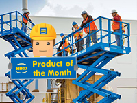 Product of the Month – Genie GS3369 RT Scissor Lift
