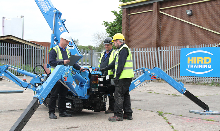 A66 compact crane - Endorsment A - training