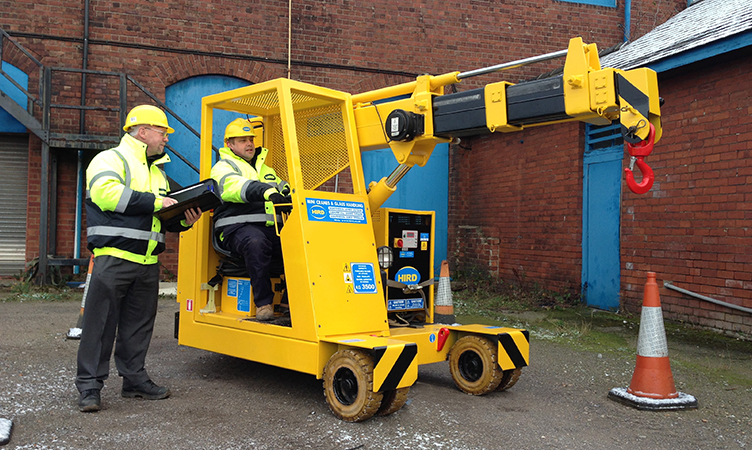 A66 compact crane - Endorsment b training