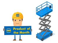 Product of the Month – Genie GS-4047 Electric Scissor Lift