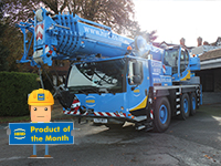 hird-Liebherr mobile crane-product-of-the-month