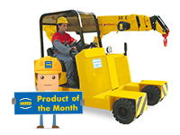 Product of the Month – Valla 50E pick and carry crane