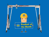 Product of the Month – Porta-Gantry A-frame crane