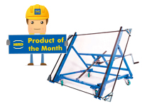 Product of the Month – Tilting glass trolley