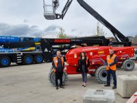 UK first for Hird as it adds all-electric Manitous to its fleet