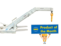 Product of the Month – Cranked Angled Lifting Beam Forklift Attachment